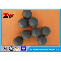 Cement Plant use Forged Grinding Ball 60Mn B2 B3 B4 for mining