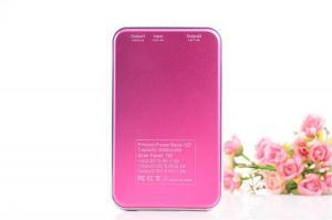 China OEM Waterproof Portable Solar Power Bank for Iphone6 Black Golden Orange Blue Multi Color on sale