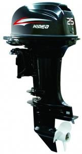 China 25 HP 2 Stroke Outboard Motors , Manual Boat Engine Outboard on sale