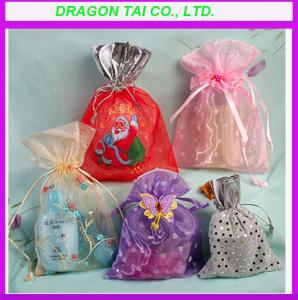 China Promotional organza gift bags, organza bags manufactory on sale