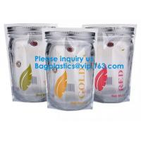 China Jar Shaped Pouches, Round Bottom Plastic Bag/Stand Up Pouch Bag For Meat,Pork,Beef,Sea Food, Bagease, Bagplastics on sale