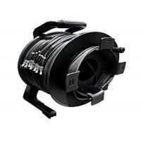 Portable Retractable Cable Reel For Various Tactical Communication FO Cable