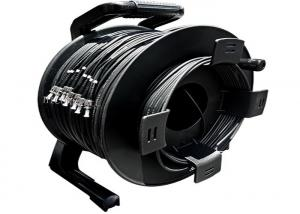 China Portable Retractable Cable Reel For Various Tactical Communication FO Cable on sale
