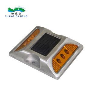 China High Intensity Solar Road Studs Custom Battery Pack Led Road Mark / Solar Stud on sale