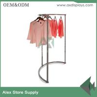 China Clothing display ideas cabinet rack clothes rack women store clothing plus size shop decoration on sale