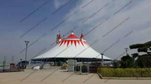 China Colorful Roof Cover High Peak Tents , Pagoda Party Tent Decoration For Outside Event on sale