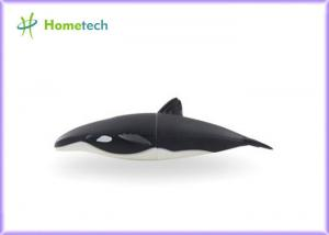 China Shark Shape Cartoon USB Flash Drive , Rubber U Disk Cartoon Pen Drive on sale