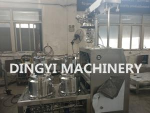 China 100L Vacuum Planetary Mixer , Cosmetic Making Machine Stainless Steel 316L on sale