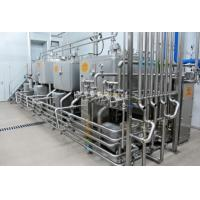 China Multifunctional UHT Milk Processing Line With Aseptic Brick Carton Package on sale
