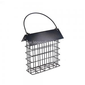 China Outdoors Cast Iron Bird Feeder , Eco Friendly Metal Hanging Bird Feeder on sale
