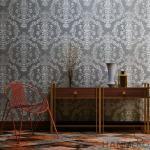 Removable Vinyl Wallpaper Waterproof / Asian Inspired Home Decoration Waterproof