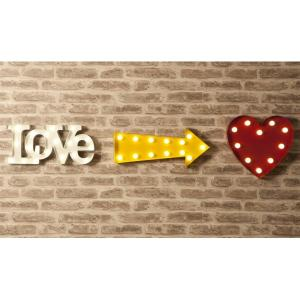 China 9 Battery Operated Marquee Letter Lights , Love Alphabet Letter Lights for Wedding on sale