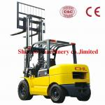5T Balance Weight Type Diesel Forklift Truck With 5000kg Rated Capacity