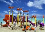 Fun Park Equipment Kids Outdoor Playground, Theme Park Equipment Plastic Slide