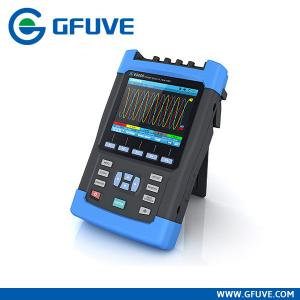 China HANDHELD THREE PHASE POWER QUALITY ANALYZER WITH CLAMP ON CT supplier