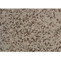 Light Brown Artificial Quartz Stone Countertops Slab For All Type Counter Tops