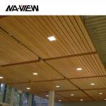 Hot Selling And Best Price Aluminum Fireproof Decoration wave Baffle Ceiling tile