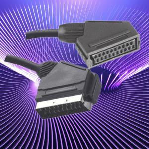 China 21pin scart plug to jack on sale
