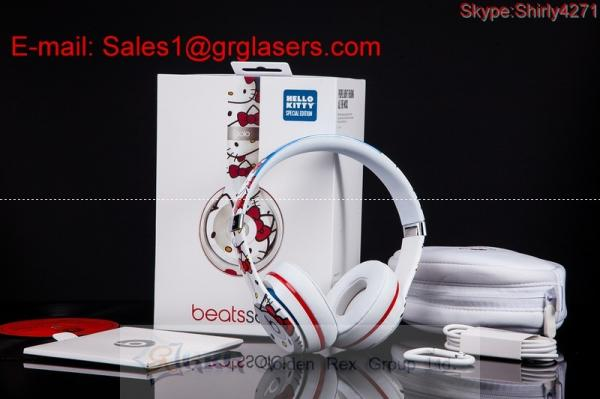 9f9aaa25ee2 BEATS BY DRE SOLO2 WIRED HELLO KITTY SPECIAL EDITION ON-EAR HEADPHONES made  in Images