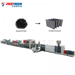 China PP Construction Formwork Extrusion Line , Building Concrete Formwork Sheet Extrusion Line on sale