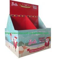 Customized Xmas gift retail cardboard pallet displays pop supermarket stand shelf