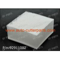 Nylon Bristle Brushes Gerber Cutting Machine Parts White Block Square Foot 92911002