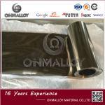 Silvery Color Titanium Foil TA1 Size 0.06mm X 200mm Bright Surface 4.51 Density