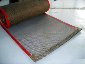 China PTFEのテフロン網のコンベヤー ベルト、ガラス繊維プロダクト ベルト on sale