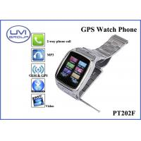 China PT202F Fashionable Real Time Wireless GPS Wrist Watch Tracker with 1.3MP Camera + Bluetooth + FM+ MP3 on sale