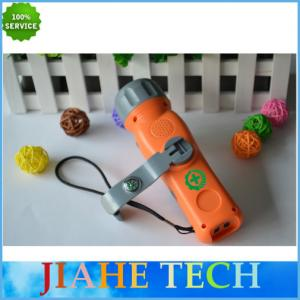 China 2015 Hot hand crank solar radio with flashlight and compass on sale