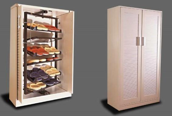 Metal 360 Degree Revolving Shoe Rack For Closet Steel Custom Rotating Images