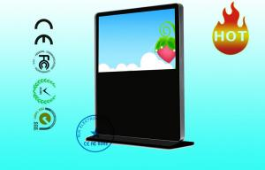 China 1920 × 1080 HD Horizontal Apple LCD Advertising Player 55 Inch Floor Standing on sale