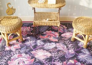 China Flooring Accessories Non Woven Carpet Underlay Felt Anti Slip Rug with PVC Dots on sale