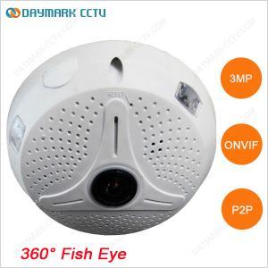 China Digital PTZ 128g SD Card Recording HD 3MP CCTV Fisheye Camera on sale