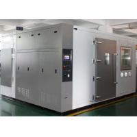 China Laboratory Burn-In Room  / For Large industrial Electronic Aging Test  Chamber Silver on sale