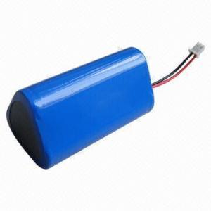 China Li-ion battery pack 18650, 3.7V, 6600mAh, 1S3P on sale