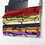 upholstery fabrics turkey micro velvet fabric with flocking shiny velvet sofa fabric