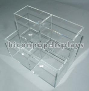 China Counter Top Clear Acrylic Makeup Organizer Merchandise Recyclable on sale