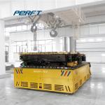 Heavy Duty Motorized Motor Drive Flat Bed Die Mold Trackless Transfer Cart