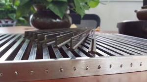 China China Custom Made 304 Stainless Steel Ditch Cover Trench Drain Grates for Drains In Foshan Manufacturer on sale
