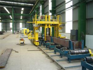 China Box Column Gantry Welding Machine Use Twin Arc Wire for Longitudinal Seam of Box Column Productions Bridge construction on sale