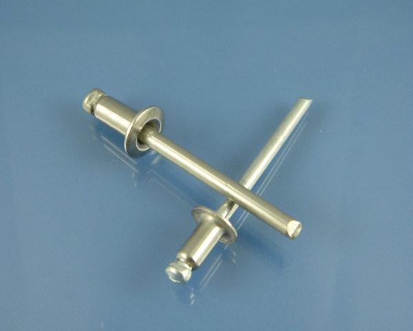pop Rivets Aluminium Rivets /& Steel Rivets Sizes 2.4mm-6.4mm Domed Head Blind