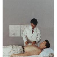 Simultaneous Mini Electric Pulse Massager White 2KG Pain Relief KWD-808I