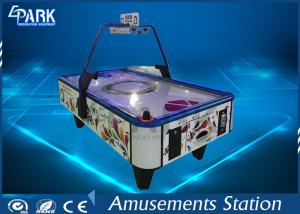 China Electronic Video Arcade Game Machines 2 Player BOBI Air Hockey Metal Material on sale