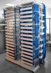 4U 72 quita el corazón a la caja de distribución del soporte de estante ODF