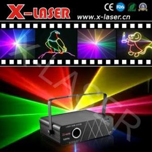 China RGB 1000mW full colour laser stage lighting on sale