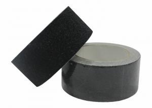 China Kitchens Anti Slip Safety Grit Tape , Antifreezing Black Non Skid Tape For Steps on sale