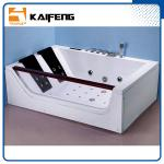 Luxurious 2 Person Jacuzzi Bathtub , Jacuzzi Therapy Tubs With Safety Suction System
