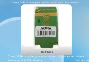 China Módulo de controle remoto de Wavecom Q2403A do módulo do rádio da G/M G/M do módulo da G/M on sale