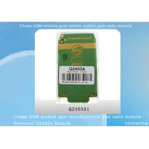 China Module à télécommande de Wavecom Q2403A de module de radio de GSM GSM de module de GSM on sale